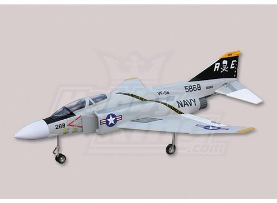 F-4幽灵EDF喷气包W / O电机和ESC