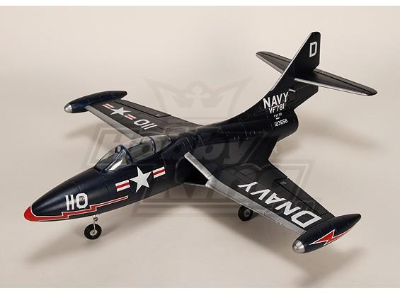 F9F豹R / C涵道风扇喷气插件正飞