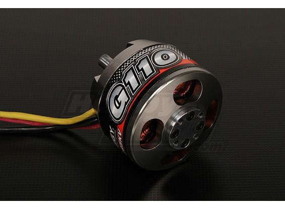 Turnigy G110无刷外转子295kv(1.10夜光)