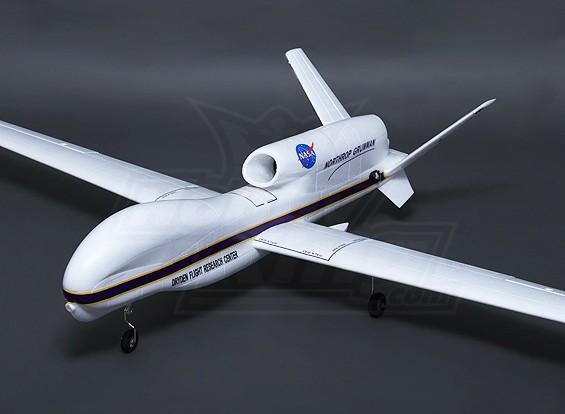 Hobbyking RQ-4B全球鹰64毫米EDF2360毫米(PNF)