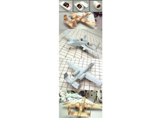 GWS A-10疣猪迅雷(W /双床55 EDF)灰色