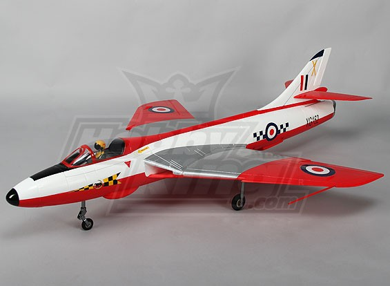 猎鹰70毫米EDF喷气6S瓦特/缩回和襟翼WSR(PNF)