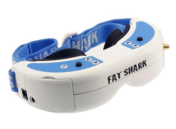 FatShark支配V2耳机系统护目镜视频眼镜600×480的VGA