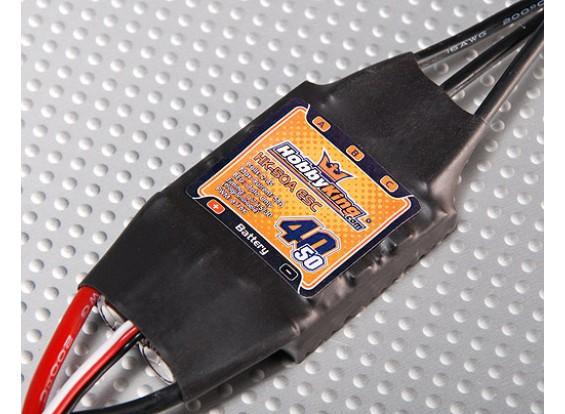 Hobbyking SS系列40-50A ESC(仅光电)