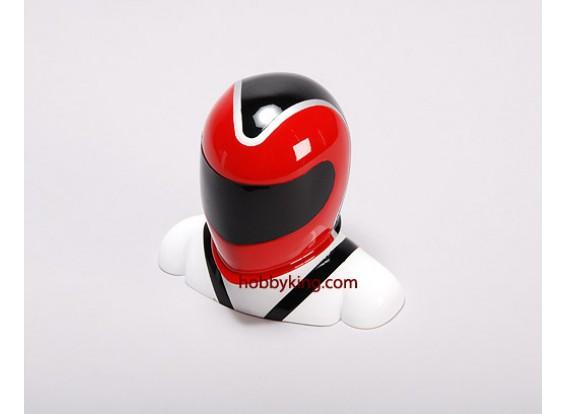 玻璃纤维驾驶员模型红与白(中)