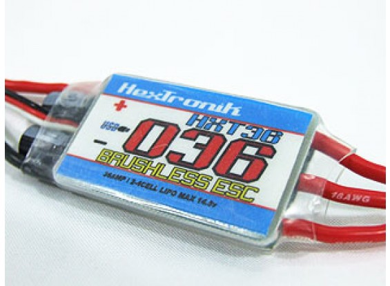 hexTronik PRO 36A BESC瓦特/ PC可编程