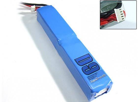 HXT D9 G2的2200mAh 4S2P(4400mAh的)20C Lipoly包