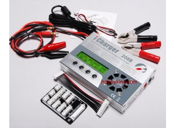 过长,iCharger 208B 350W 8S平衡/充电器