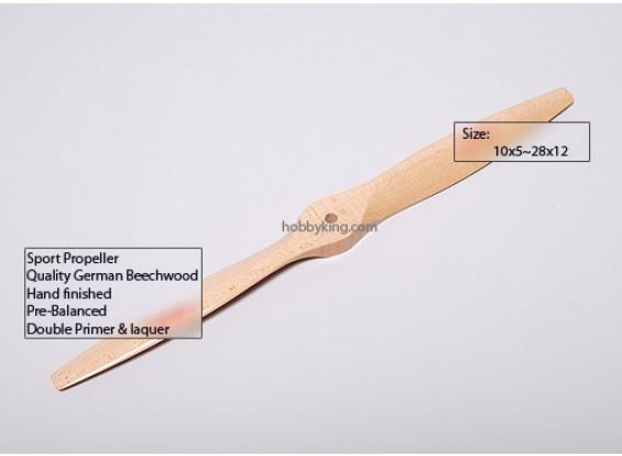 XR B型榉木3D / SF螺旋桨28x12(1个)