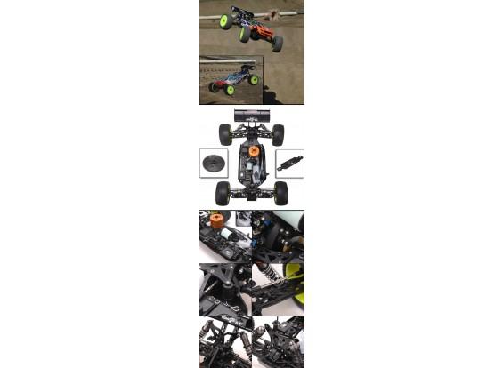 1/8 8IGHT-T 2.0 4WD Truggy赛轮