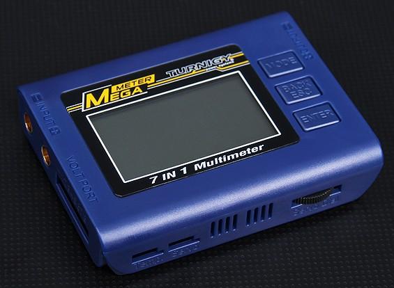 Turnigy™7in1兆仪电池检测器/瓦特计/伺服试验机