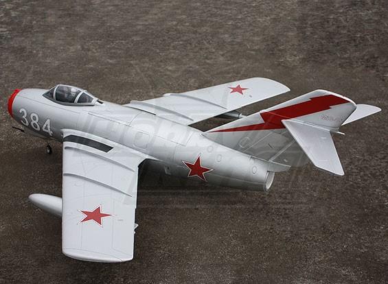 米格1590毫米EDF1550毫米瓦特/襟翼和灯光(ARF)