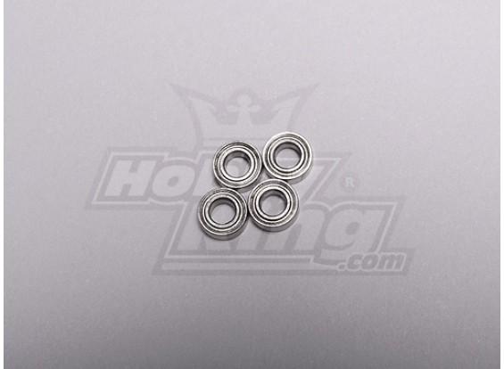 HK-250GT Ball Bearing 3.5 x 7 x 2.5mm (4pcs/set)