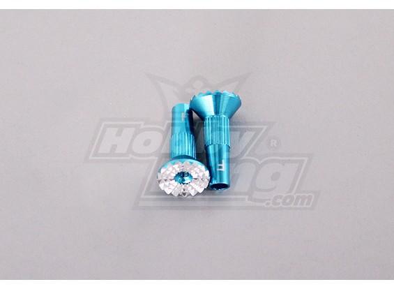 TurboThumbs超级大双叶摇臂(1对),蓝