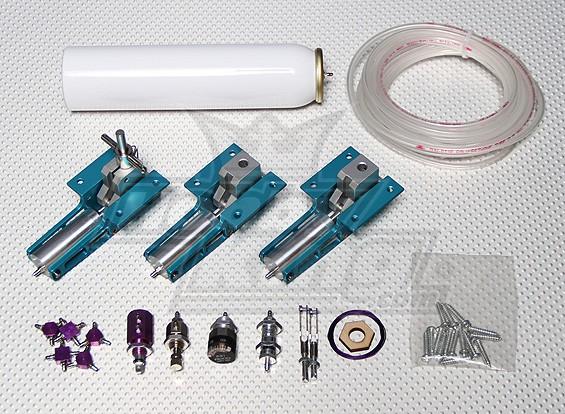 气动工具收回两通阀(无Struts的)0.40〜0.46级