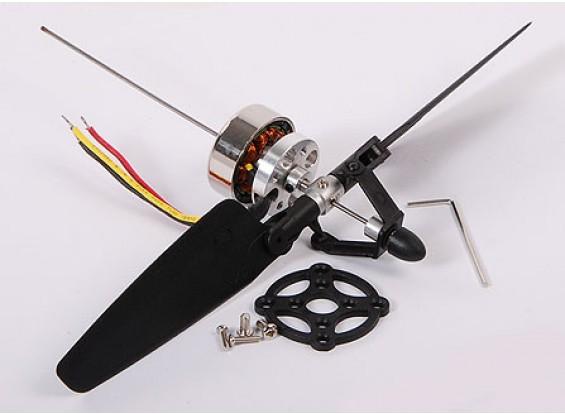 """可变螺距螺旋桨和马达设置9""""B型"""
