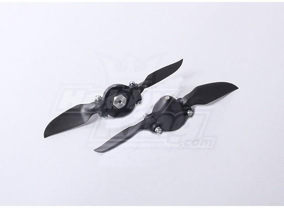 塑料折叠螺旋桨大会6X3(合金轮毂)(2件/袋)