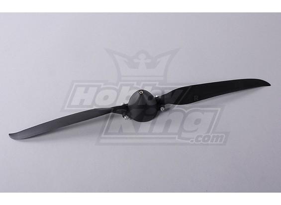 折叠式螺旋桨W /集线器45毫米/4毫米轴13.5x7(1个)