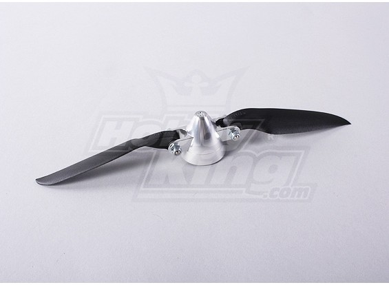 折叠螺旋桨W /铝合金花鼓35毫米/3.17毫米轴8x4.5(1个)