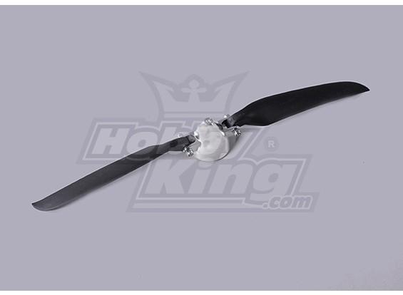 折叠式螺旋桨W /铝合金花鼓40毫米/3毫米轴11x6(1个)