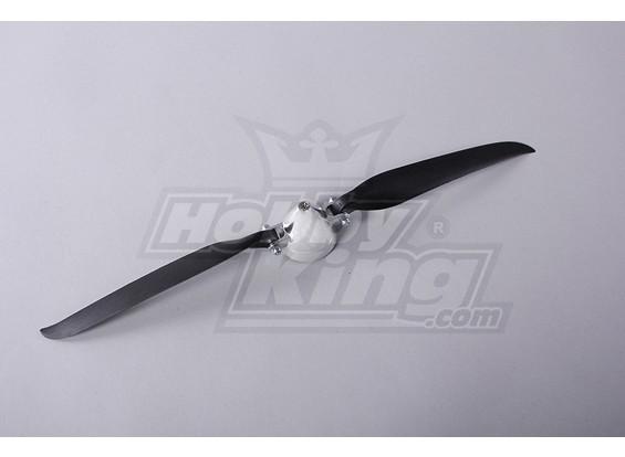 折叠式螺旋桨W /铝合金花鼓45毫米/4毫米轴13.5x7(1个)