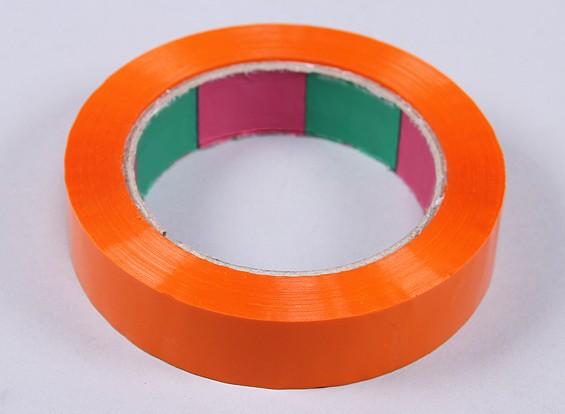 永磁带45mic x 24毫米x 100米(窄 - 橙色)