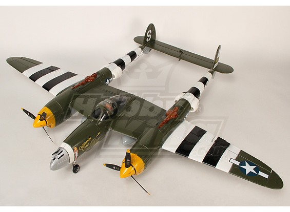 1.4米EPO Warbird W /缩回插件 - & - 飞(迷彩)