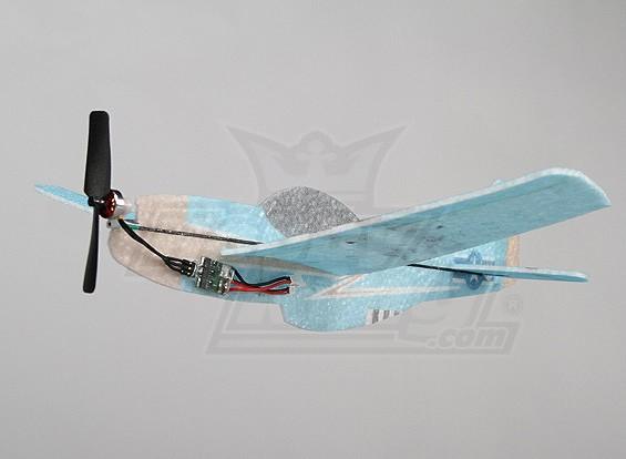 微P-51简介EPP360毫米 - 无刷(ARF)