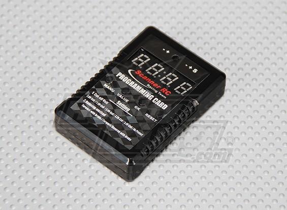 扫描仪RC 1/10汽车ESC编程卡
