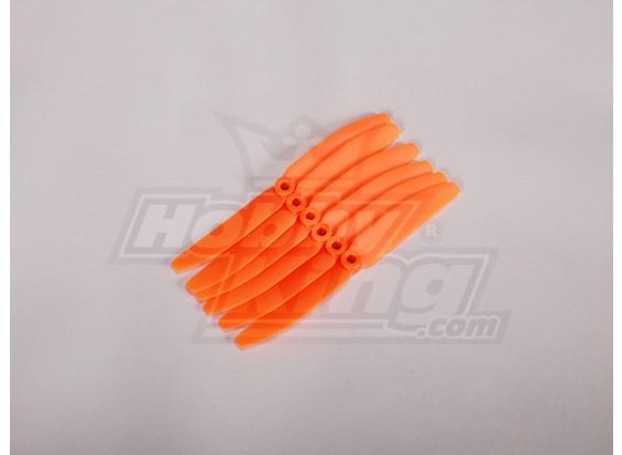 GWS式螺旋桨4.5x3橙色(CCW)(6片)