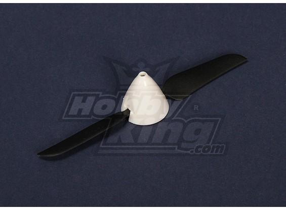 Turnigy迷你雨燕更换折叠螺旋桨和微调