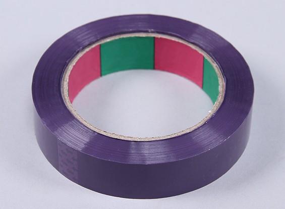 永磁带45mic x 24毫米x 100米(窄 - 紫色)