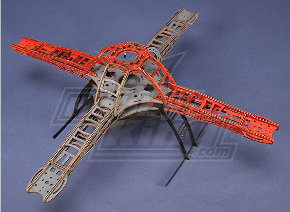 HobbyKing四轴飞行器框架V1