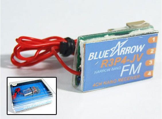 箭4路3.5克72MHz的FM微型接收器(V3)