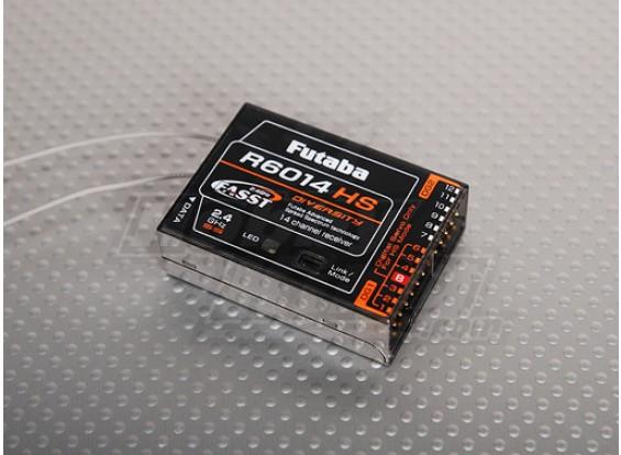 双叶R6014HS 14通道的2.4GHz接收器FASST