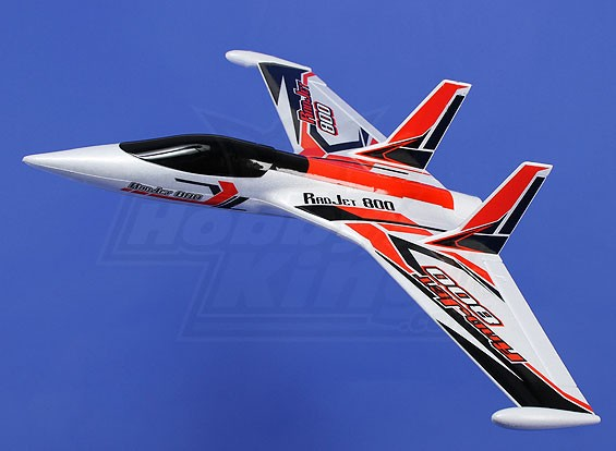 HobbyKing®™Radjet 800 EPO800毫米W /电机(ARF)