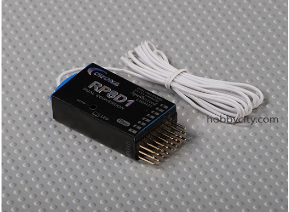 电晕合成双-CONV接收器为8Ch 35MHZ