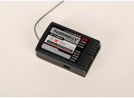 Turnigy 9X的2.4GHz接收器为8Ch(V2)