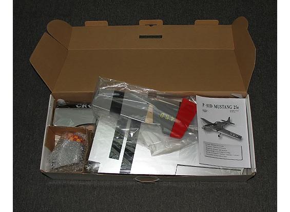 SCRATCH / DENT P-51D老乌鸦1206毫米轻木(ARF)