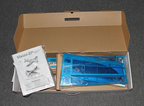 SCRATCH / DENT视觉EP巴尔沙3D蓝940毫米(ARF)