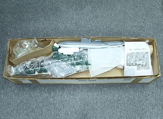 SCRATCH / DENT猎鹰W /70毫米合金10个刀片EDF /全金属缩回/襟翼866毫米(PNF)