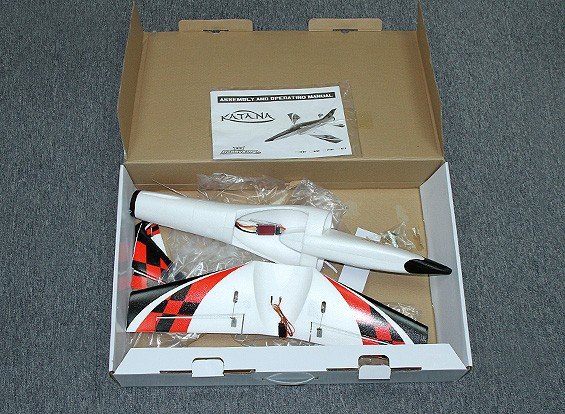 SCRATCH / DENT  -  Hobbyking迷你武士刀EDF运动喷气EPO600毫米(PNF)