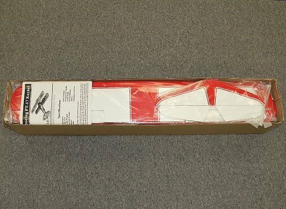 SCRATCH / DENT  - 超级斯蒂尔曼双翼飞机巴尔沙1120毫米(ARF)
