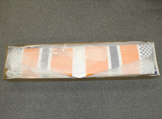 SCRATCH / DENT  -  HobbyKing Mellizo 50E特技飞行双翼飞机巴尔沙/帘布层1480毫米(ARF)