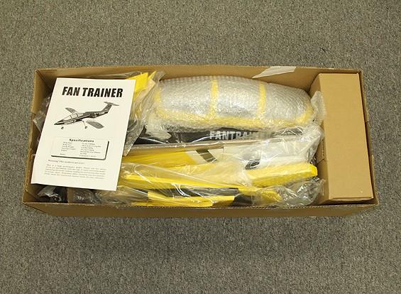 SCRATCH / DENT  - 范教练90毫米EDF复合1300毫米(黄色)