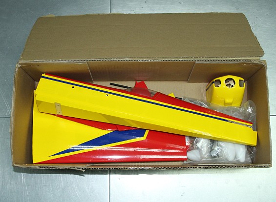SCRATCH / DENT  -  HobbyKing™边缘540飞行器巴尔沙914毫米(ARF)