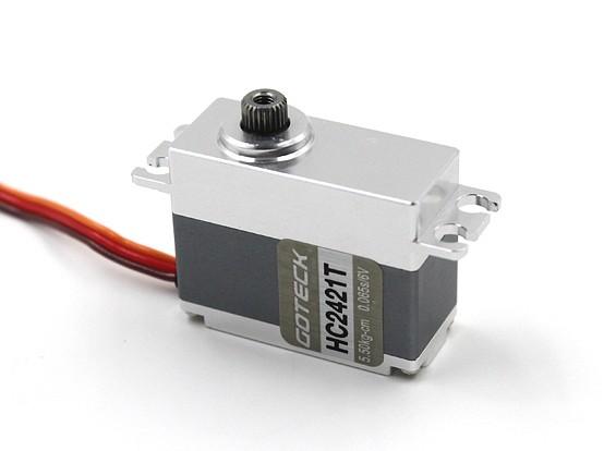 SCRATCH / DENT  -  Goteck HC2421T HV数字MG金属壳租车伺服35克/6.5公斤/ 0.05sec