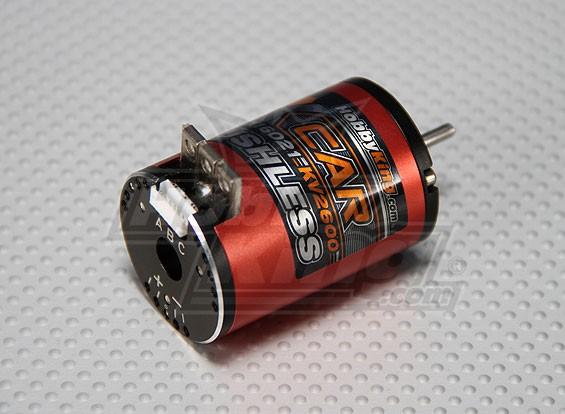 HobbyKing的X车13.5打开带传感器无刷电机2600Kv