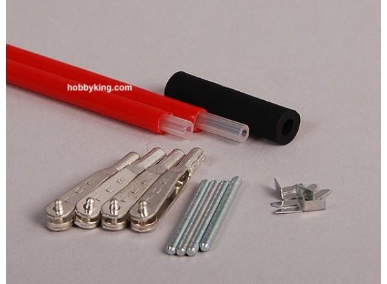 沙利文黄金-N-杆91厘米/2毫米灵活的2套