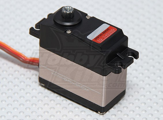 HobbyKing™S4020D无芯数字钛齿轮舵机HV56克/21.8公斤/ 0.13s